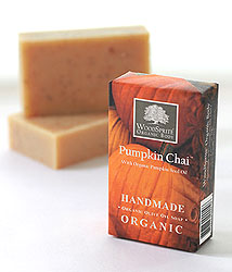 Pumpkin Chai Organic Olive Oil Soap